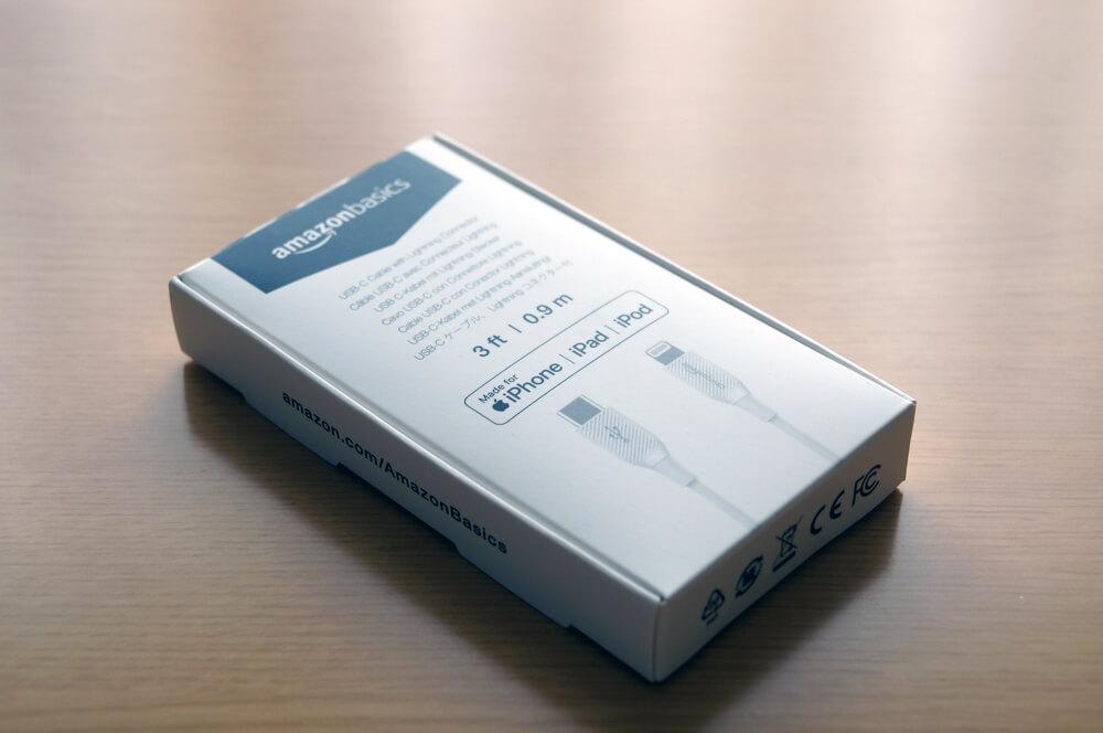 Amazonベーシック USB-C ライトニングケーブル レビュー:安価だけど品質面はなかなか良くおすすめ。Apple純正ケーブルとの比較検証も。