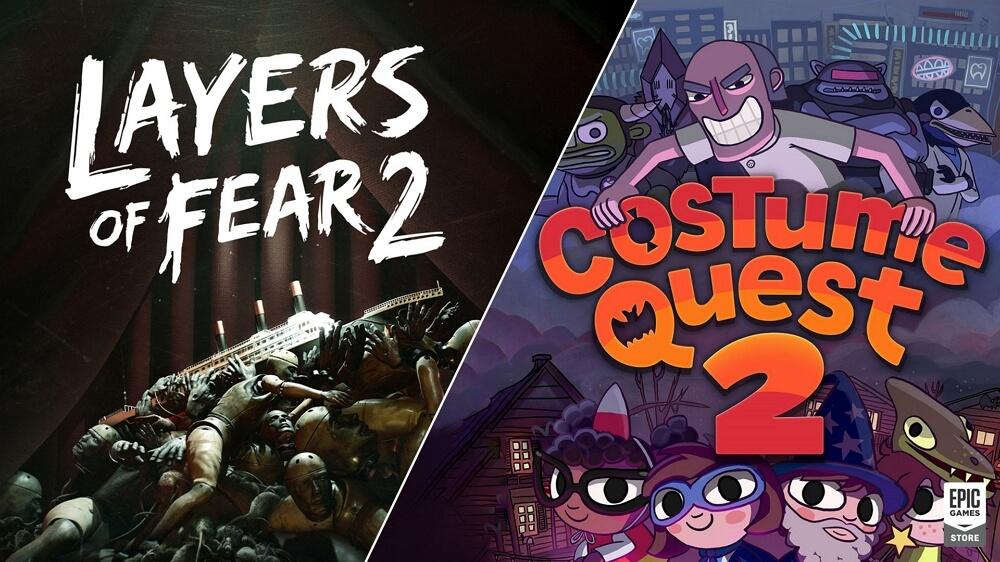 合計4,660円→無料!Epic Gamesストアで船上サイコホラー「Layers of Fear 2」とターンベースRPG「Costume Quest 2」が無料配布中!