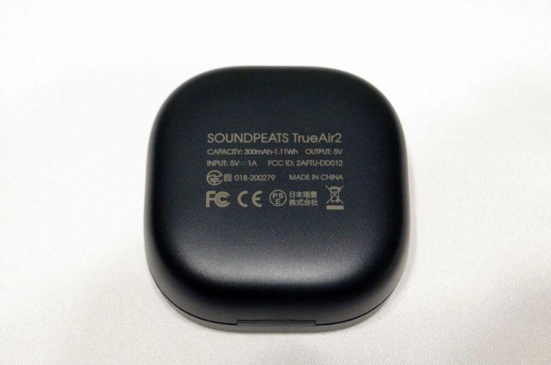 SOUNDPEATS TrueAir2:外観レビュー