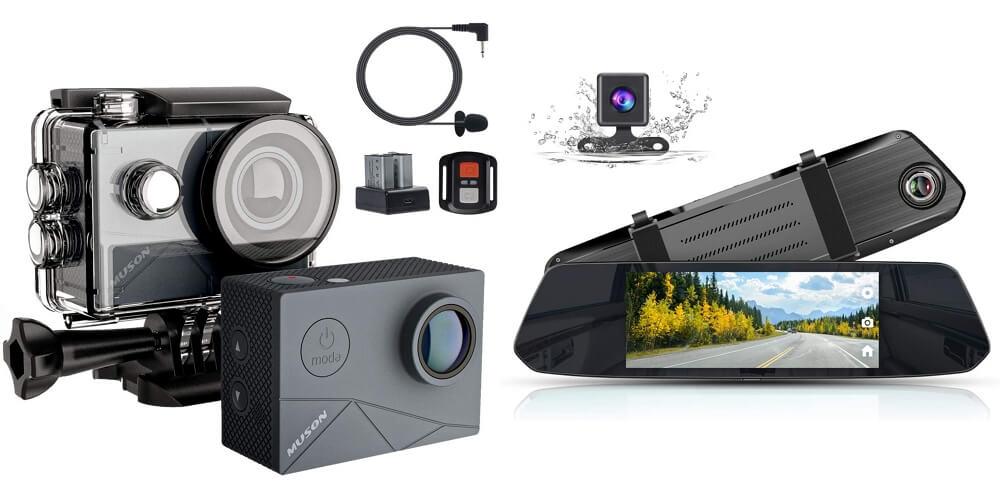 Amazonサイバーマンデー:最大58%オフ!MUSONのアクションカメラやドラレコなどが特選タイムセールに登場中!