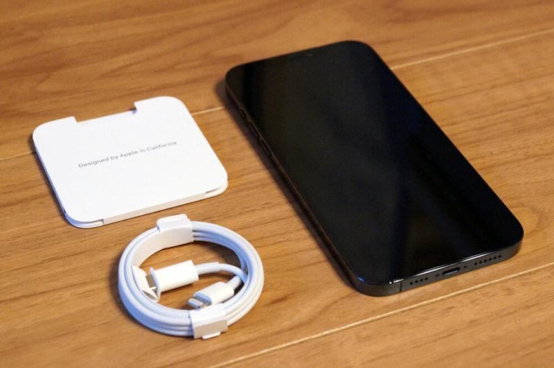 iPhone 12 Pro Max:同梱物