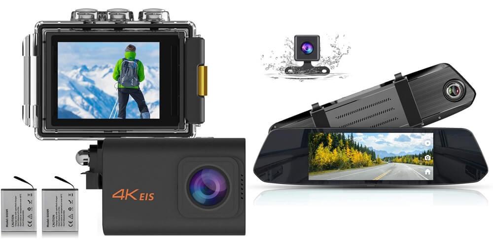 【Amazonセール情報】MUSONのアクションカメラが30%オフ、ミラー型ドライブレコーダーが2,000円オフとなるクーポンコードを頂いたのでご紹介!