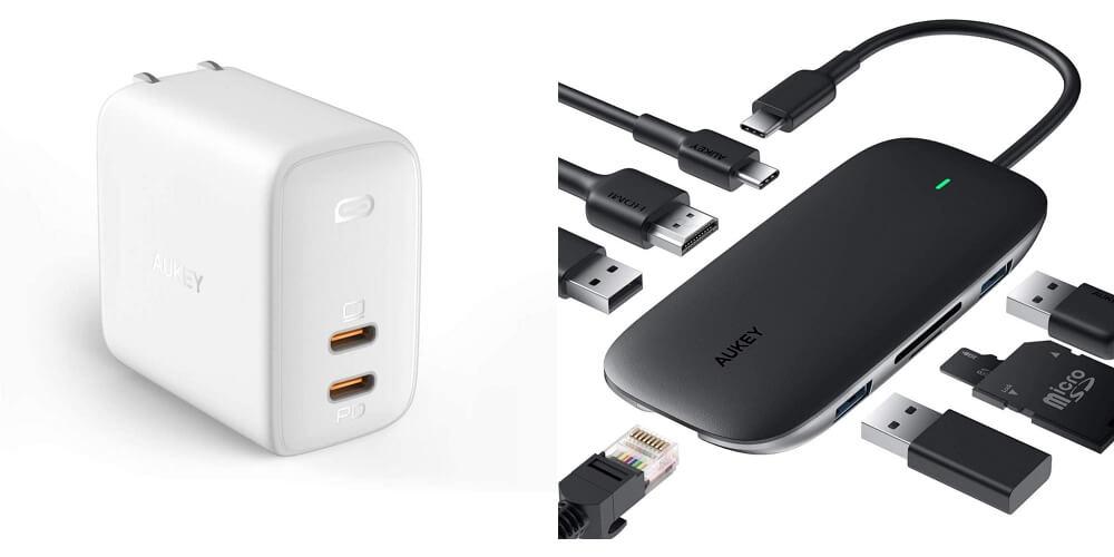 【12/10~】クーポンで最大40%オフ!AUKEY特価セール情報まとめ!急速充電器やモバイルバッテリー、8in1 USB-Cハブ、完全ワイヤレスイヤホンなどがお得に購入可能!