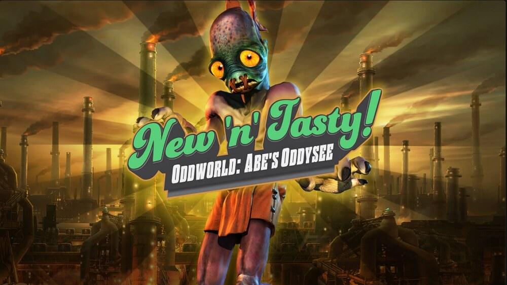 【セール2日目】EpicGamesストアで「Oddworld: New 'n' Tasty」が無料配布中!ホリデーセールで15日間毎日無料ゲームプレゼント!