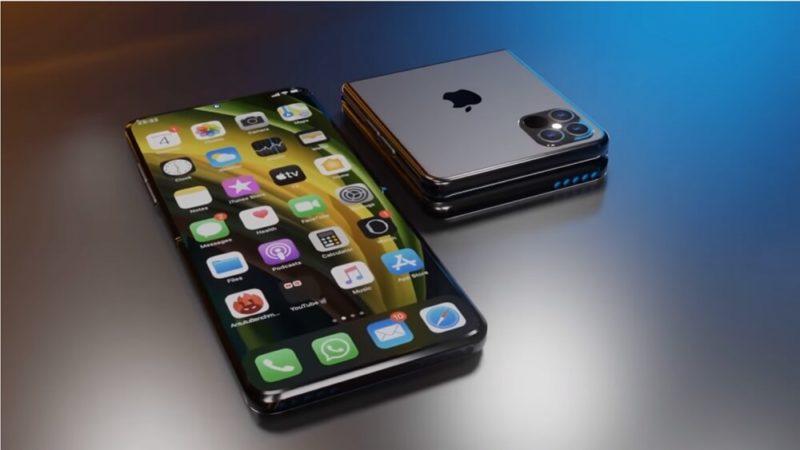 折りたたみ式iPhoneは2022年発売?
