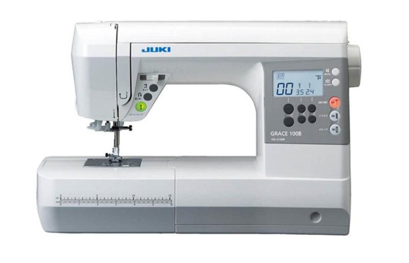 【2020年】買っても良かったもの6位:JUKI コンピュータミシン 『GRACE 100B』 ハードケース付き HZL-G100B