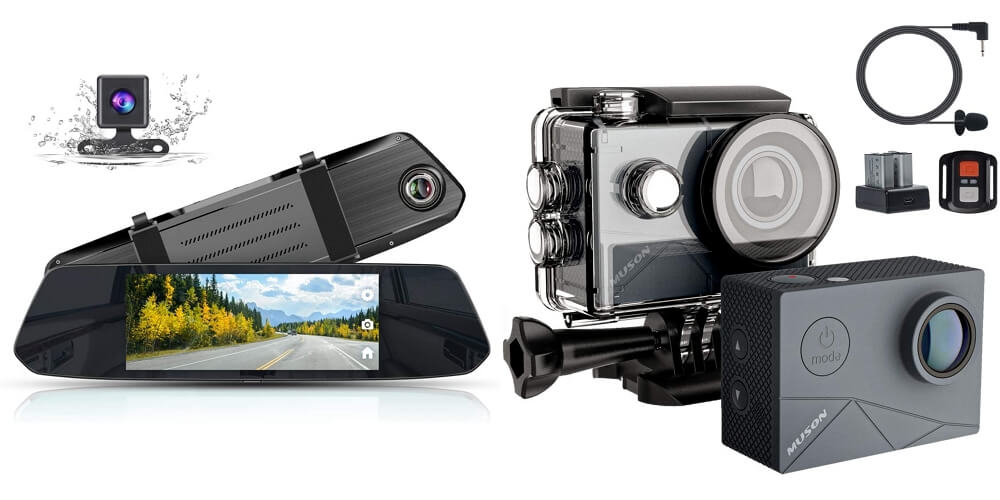 MUSONのドラレコとアクションカメラがセール価格からさらに割引になる超お得なクーポンコードを頂いたのでご紹介!