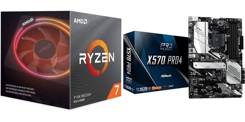 自作PCユーザー必見!Amazonタイムセール祭りにRyzen 7 3700XとASRockのマザーボード X570 Pro4のセット品が格安で登場中!