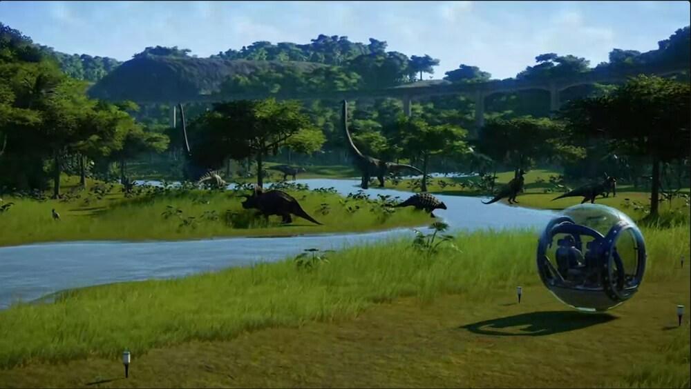 4,600円→無料!EpicGamesストアで恐竜テーマパーク運営シミュレーション「ジュラシック・ワールド・エボリューション」が無料配布中!ホリデーセールで15日間毎日無料ゲームプレゼントの最終日!