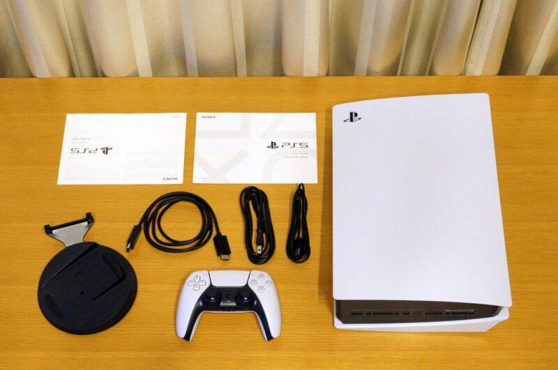 PS5のセット内容/同梱物