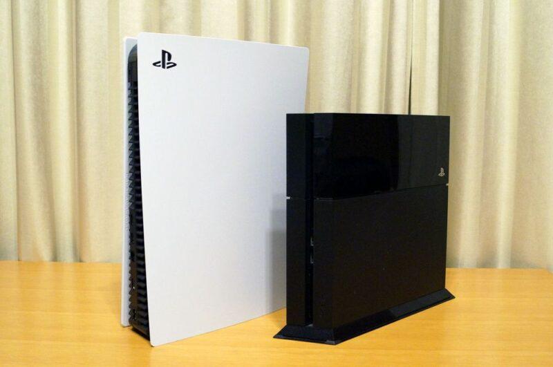 PS5とPS4の比較