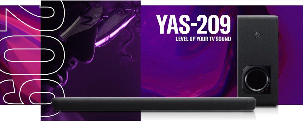 YAMAHAのサウンドバー「YAS-209」でBluetooth接続が出来なくなった時の直し方&簡易レビュー