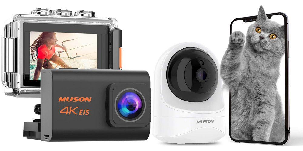 最大50%オフ!MUSONがアクションカメラや温湿度計などの在庫一掃セールを開催中!割引クーポンを頂いたのでご紹介!