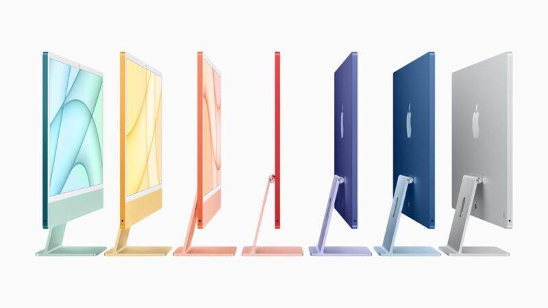 iMacがM1チップ搭載&カラフルなディスプレイを携えて大幅刷新!