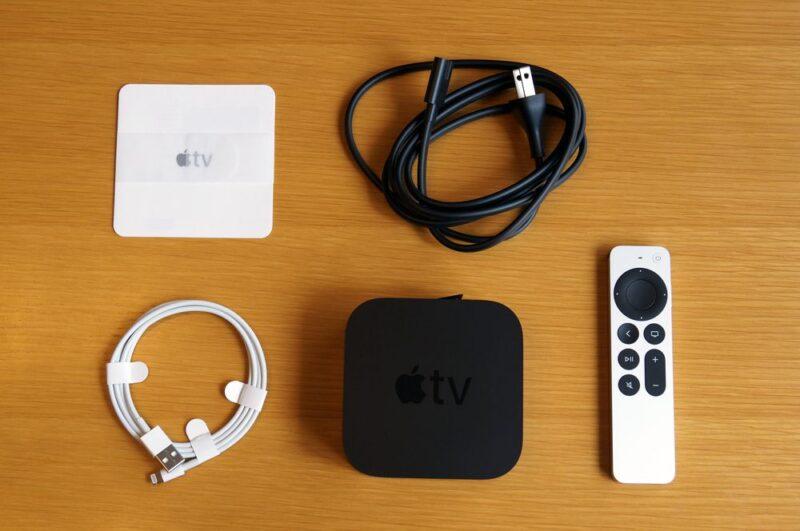 Apple TV 4K 第2世代のセット内容:HDMIケーブルが別売りな点はご注意を