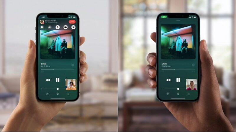Apple MusicのSharePlay