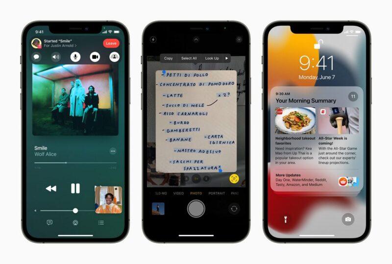 iOS 15の新機能&概要まとめ