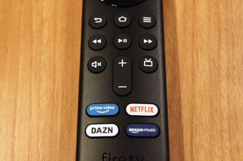 Alexa対応音声認識リモコン(第3世代)のアプリボタン