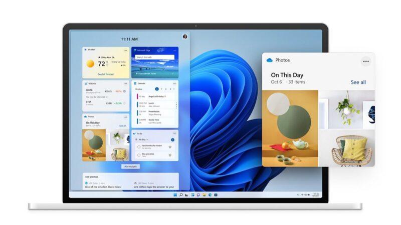 Windows 11:ウィジェット機能が復活!
