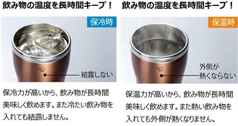 真空断熱タンブラーのおすすめポイント