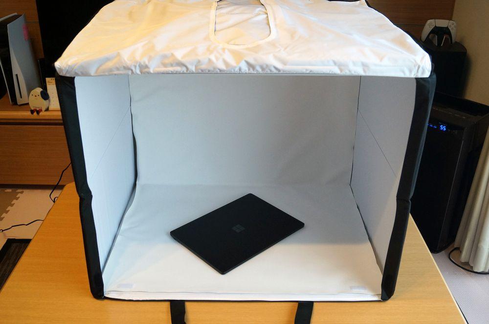 これはおすすめ!撮影ボックス「Amazonベーシック ポータブルフォトスタジオ」レビュー!