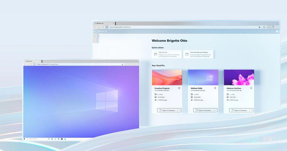 iPadでもWindowsが利用可能に!MicrosoftがWindows 365 Cloud PCの提供を開始!最安値月額2,720円から!