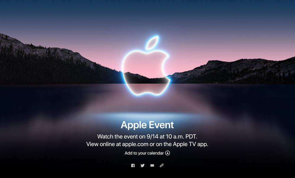 Appleの新型iPhone13発表イベントは日本時間9月15日午前2時より開始!