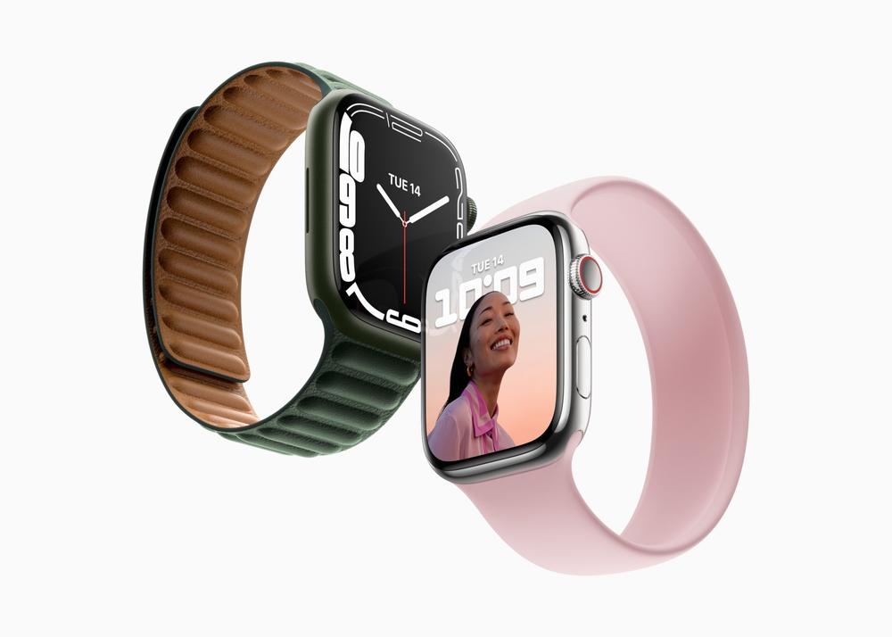 Apple Watch Series7 発表。ディスプレイが20%大型化、デザインはキープコンセプトに
